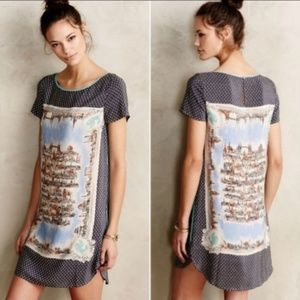 Anthropologie Dresses - Anthro Maeve Around Town Silk Dress